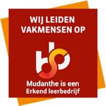 Mudanthe is een erkend leerbedrijf (SBB erkend)